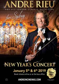 André Rieu New Year's Concert from Sydney 2019