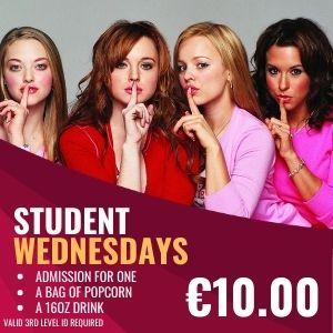 Student Wednesday
